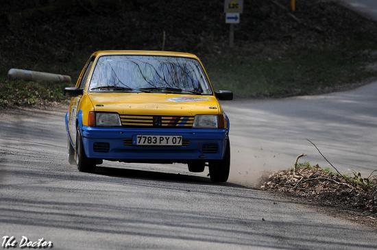 205 n°87 01 Rallye de Franche comté 2012
