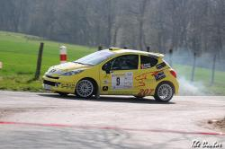 207 n°9 01 Rallye de Franche comté 2012
