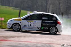 clio n°12 01 Rallye de Franche comté 2012