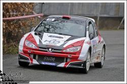Franche comte 13 n°21 MOUREY Steve DUCHANOY Laurence Peugeot 206