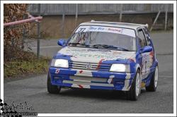 Franche comté 13 n°37 DE SOUSA Alexandre PUSSET Romain 205 GTI 1,9
