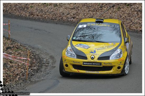 Franche comte 13 n°4 COURTOIS Olivier BRONNER Kevin Renault Clio RS