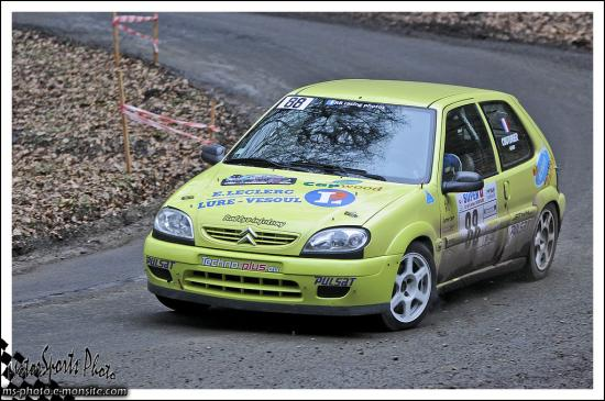 Franche comté 13 n°88 COUTURIER Alexis FAIVRE Emeline Citroën Saxo