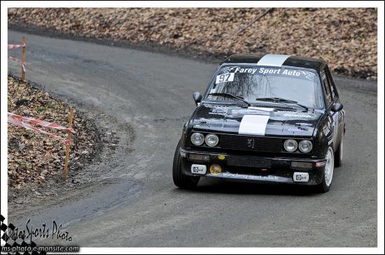 Franche comté 13 n°97 FAREY Samuel FAREY Adeline 104 ZS Rallye
