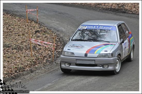 Franche comté 13 n°107 CUNEY Geoffrey STEVENOT Helene 106 Rallye