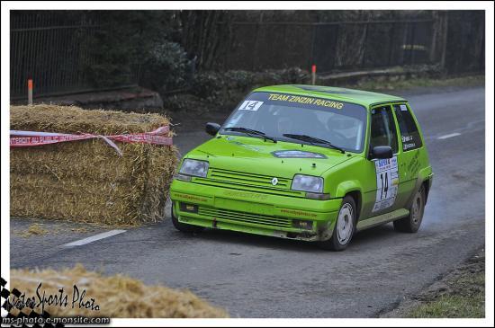 franche comté 13 n°14 VIEN Cedric BOUGROUN Nathalie R5 GT Turbo