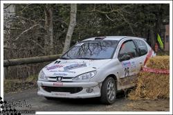 Franche comte 13 n°25 COURDIER David CHABOD Loic Peugeot 206 RC