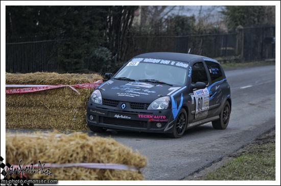 Franche comte 13 n°60 LELANDAIS Jeremy SAGE Dylan Renault Clio