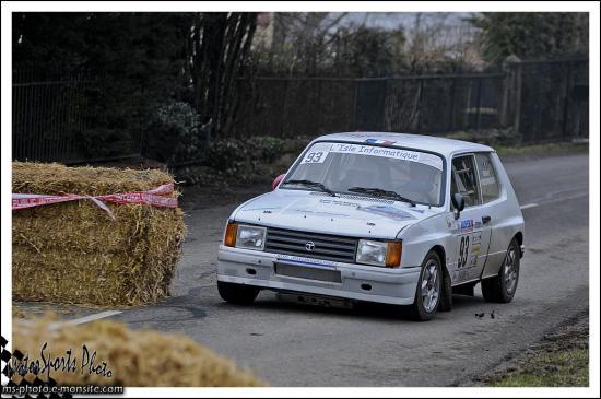 Franche comté 13 n°93 ORSAT Laurent FREIDINGER Carine Samba Rallye
