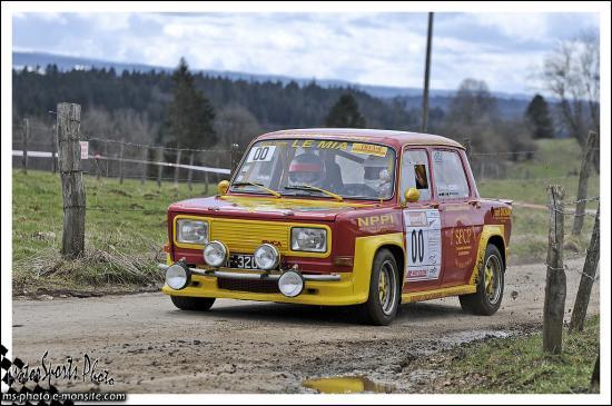 Rivière Drugeon n°00 DICHAMP Pascal DICHAMP Charline  Rallye III