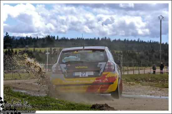 Rivière Drugeon n°27 BEUZON Mathieu COURVOISIER Thibaut Fiat Stilo