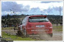 Rivière Drugeon n°67 PAULIN Anthony PAULIN LudovicPeugeot 206 RC