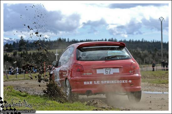 Rivière Drugeon n°67 PAULIN Anthony PAULIN Ludovic	Peugeot 206 RC