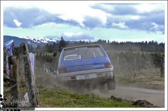 Rivière Drugeon n°121 PUTOD Bertrand FAIVRE Loic Peugeot 205