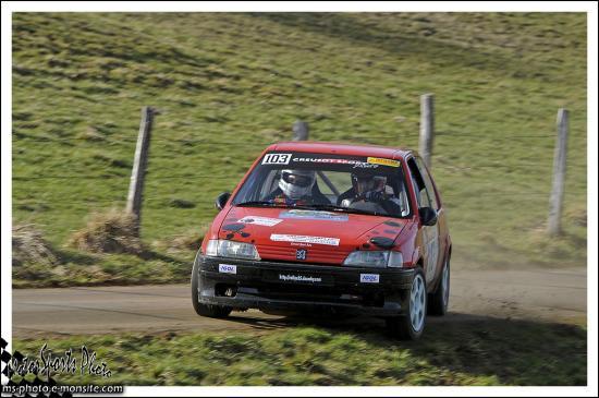 Rivière Drugeon n°103 LACOUR Jerome DIRAND Damien 106 Rallye