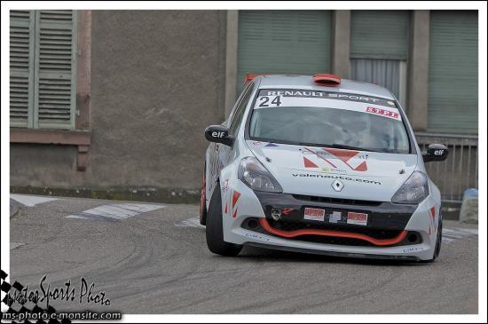 Slalom des deux Ponts n°24 REBOUCHE Alain Clio Cup