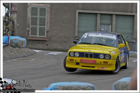 Slalom des deux Ponts n°21 GILLET François BMW M3