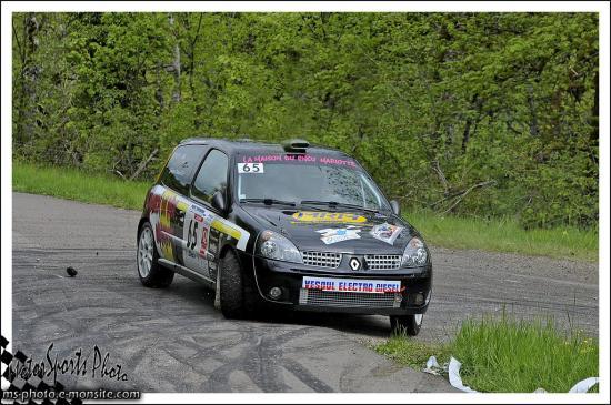 Dijon 2013 POTARD JEROME / FAIVRE STEPHANIE CLIO RS