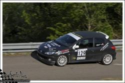 Vuillafans 2013 - n°129 CHEVALLIER David Peugeot 206