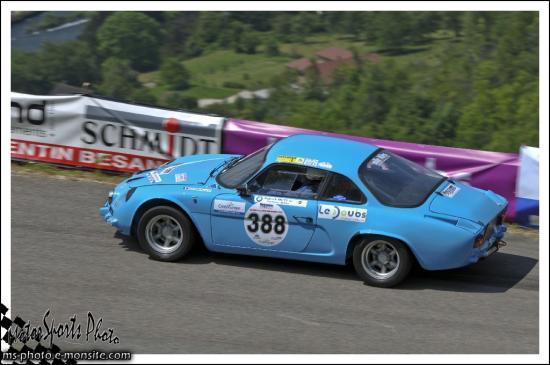 Vuillafans 2013 - n°388 MOEGLEN Pierre Alpine A 110 1300