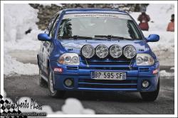 ronde 2012 84 BAVOYSI Jacky CHALUMEAU Julien RENAULT CLIO RS