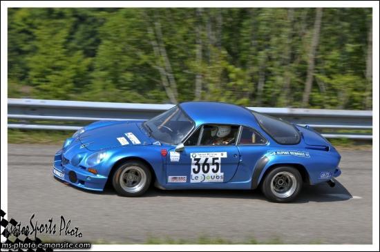 Vuillafans 2013 - n°365 MICHON René Alpine A110