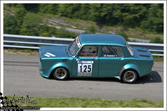 Vuillafans 2013 - n°125 FAVARIO Thierry Simca Rallye 2