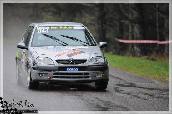 vallée de l'ognon n°105 COLLE Alexis *COLLE Leslie Citroën Saxo