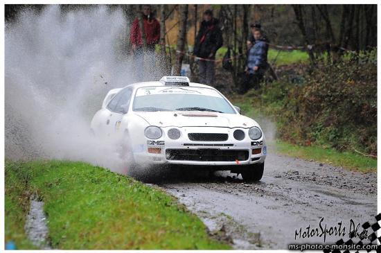 Rallye Vallée de l'ognon 2012 -  RONFORT Jean-Pierre Toyota Celica