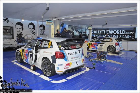 Monte carlo 2013 stand VW POLO WRC