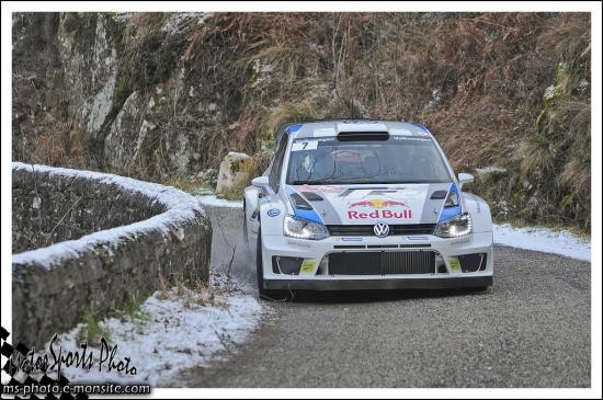 Monte-Carlo 2013 LATVALA Jari-Matti ANTTILA Miikka POLO WRC