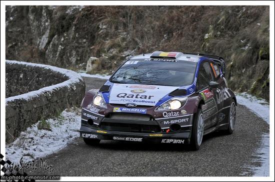 Monte carlo 2013 NEUVILLE Thierry GILSOUL Nicolas FIESTA WRC