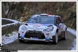 Monte carlo 2013 BOUFFIER Bryan PANSERI Xavier DS3 WRC