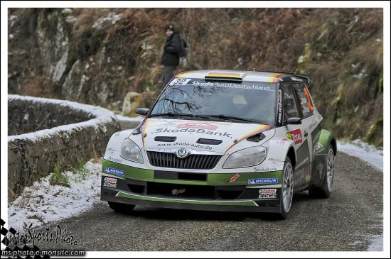 Monte carlo 2013 WIEGAND Sepp CHRISTIAN Frank FABIA S2000