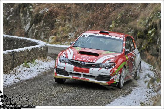 Monte-Carlo 2013 KREMER Armin WICHA Klaus Impreza