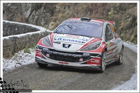Monte-Carlo 2013 BETTI Luca PEZZOLI Francesco 207 S2000