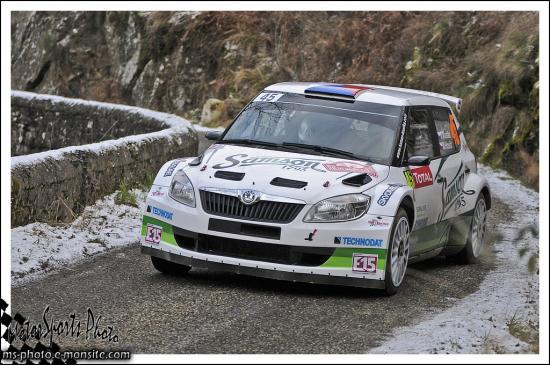 Monte-Carlo 2013 KOSTKA Tomas HOUST Miroslav FABIA S2000