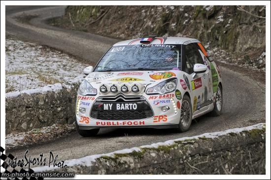 Monte carlo 2013 DARD Thierry PASQUION Laurent CITROEN DS3