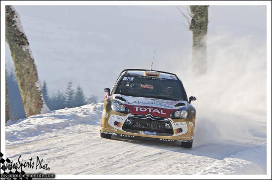 Monte carlo 2013 SORDO Daniel DEL BARRIO Carlos DS3 WRC