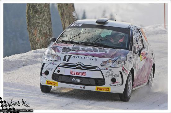 monte carlo 2013 GALLEANO Yannick TOURN Florent DS3 R3T