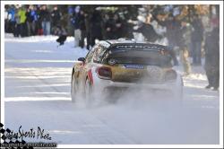 Monte carlo 2013 LOEB Sébastien ELENA Daniel DS3 WRC
