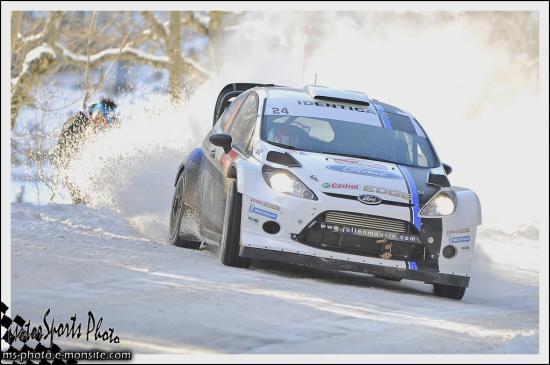 Monte carlo 2013 MAURIN Julien KLINGER Nicolas FIESTA WRC