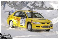 Ronde jura 2013 PERROT Cedric ZURBACH Laure Lancer Evo VIII