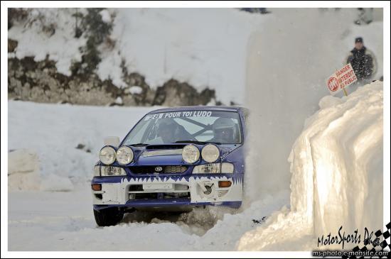 ronde jura 2013 BRUGNOT David BRUGNOT Pierre Subaru Impreza