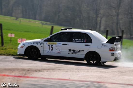 mitsu n°15 01 Rallye de Franche comté 2012