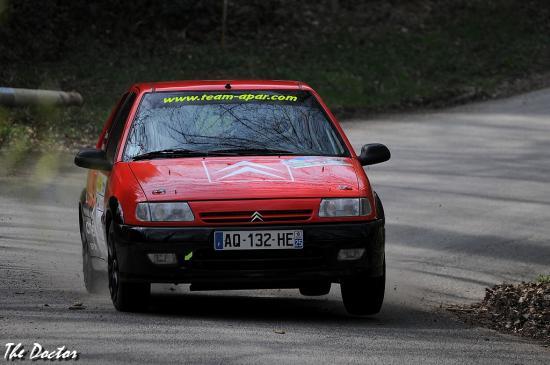 saxo n°61 01 Rallye de Franche comté 2012