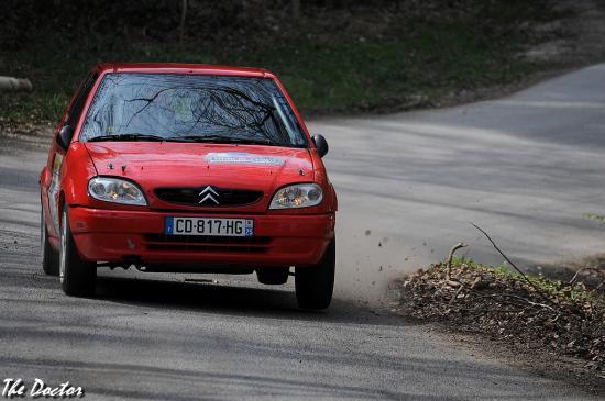 saxo n°63 01 Rallye de Franche comté 2012
